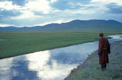 AW011A - Contemplation in Mongolia