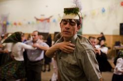 DE016 - All night folk dancing, Budesti, Maramures, Romania