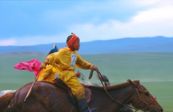 AW011 - Boy Rider, Naadam Festival, Mongolia