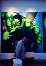 AW013 - Hulk and Homeless Man
